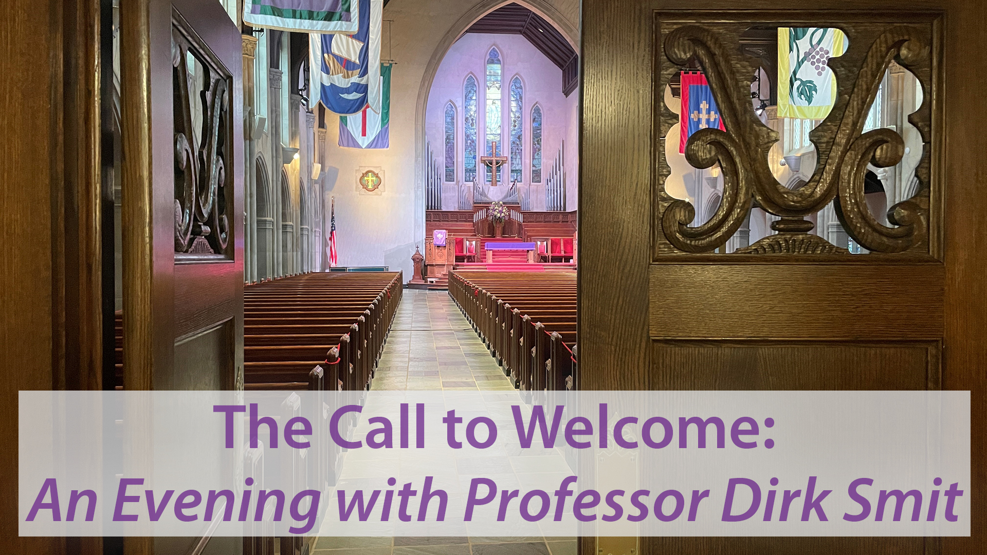 The Call to Welcome: An Evening with Professor Dirk Smit