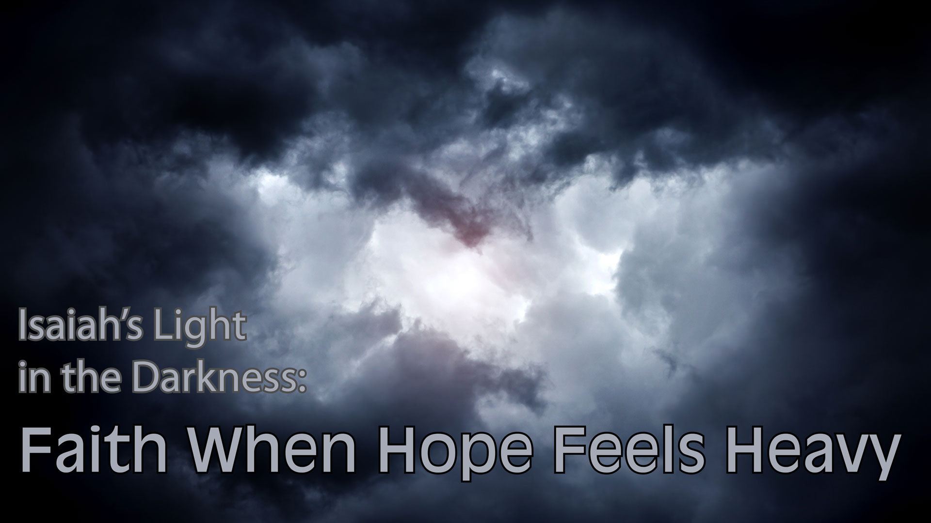 Isaiah's Light in the Darkness: 