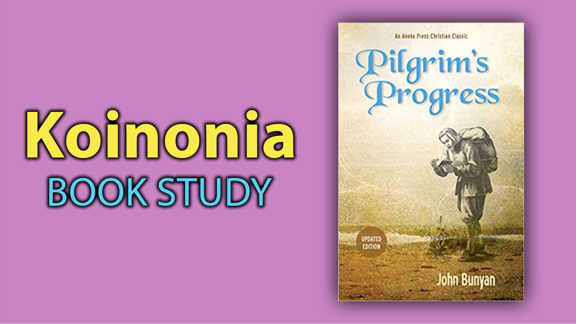 Koinonia -- Sundays, 9:15 a.m.