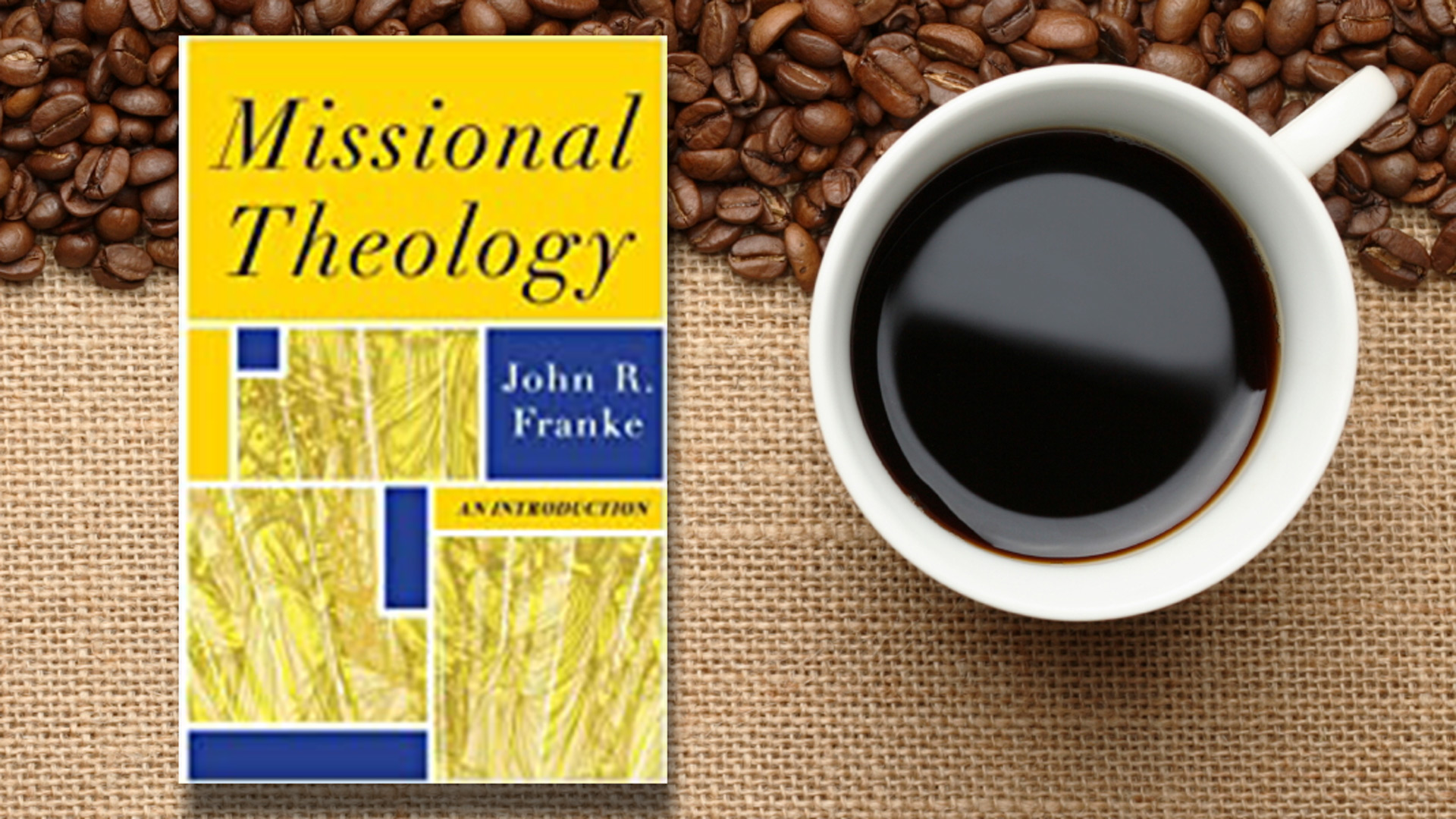 Theology, Thoughts & Coffee -- Sundays, 8 a.m.